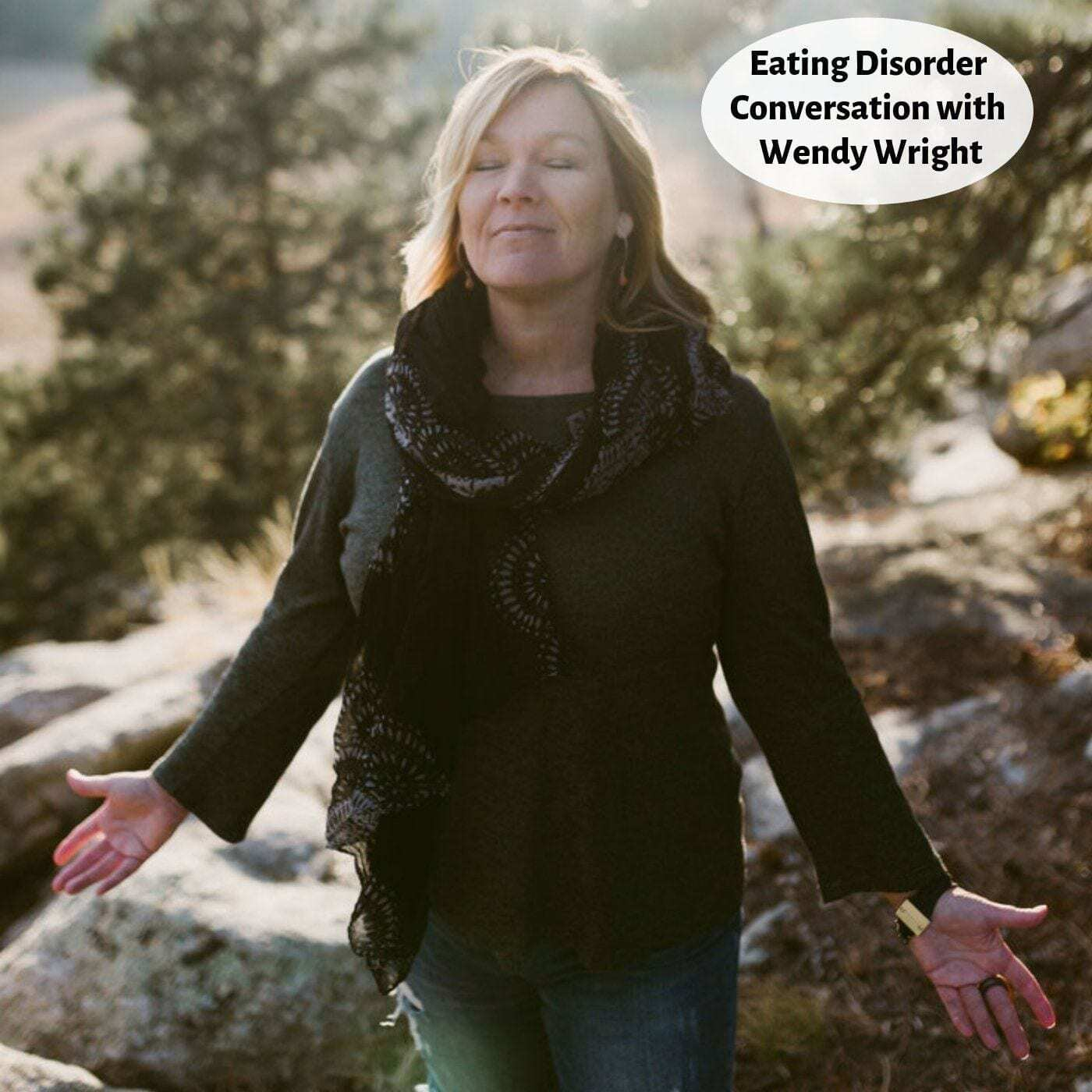 I Have An Eating Disorder Now What cover image for podcast with wendy wright