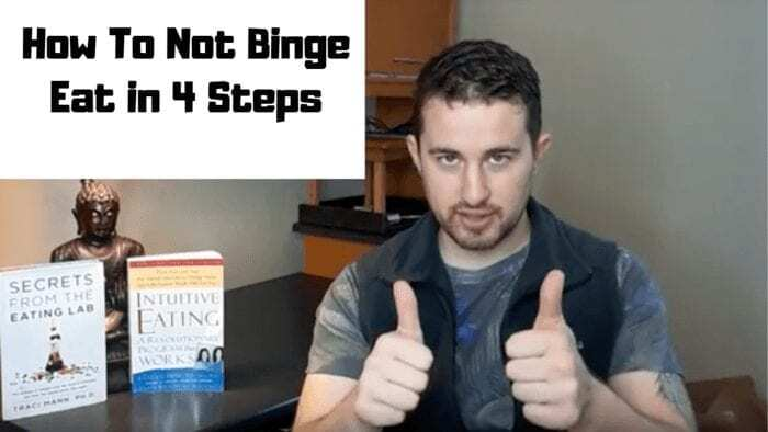How To Not Binge Eat in 4 Steps (Sunnyvale Eating Coaching)