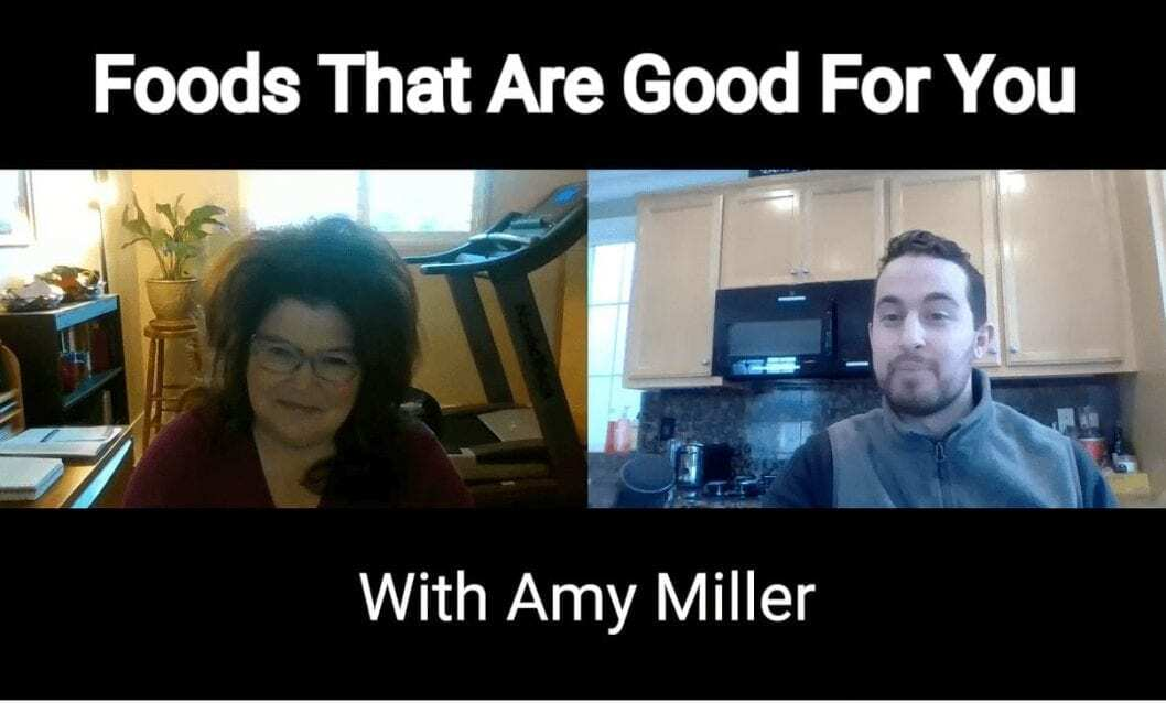 foods that are good for you youtube cover image with amy miller