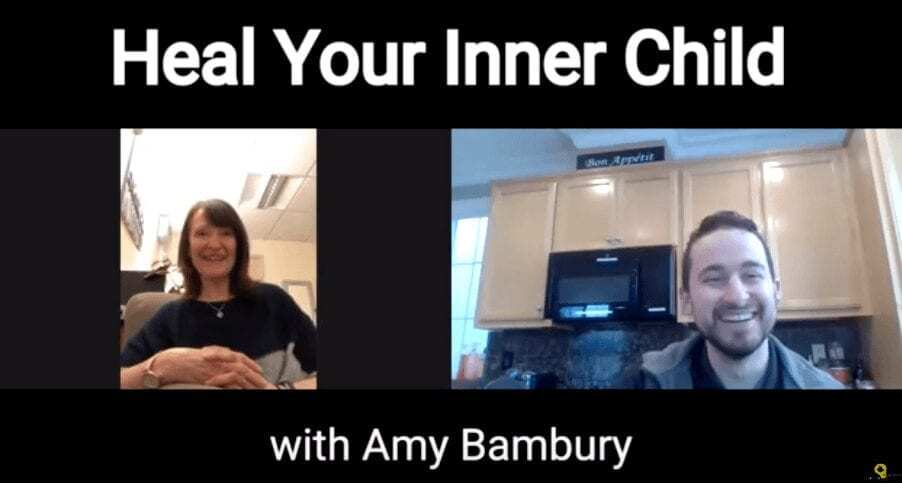 heal your inner child wounds with amy bambury youtube cover photo