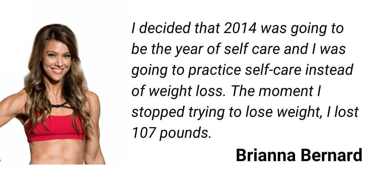 how to lose weight fast quote by brianna bernard - i decided that 2014 was going to be the year of self care and I was oging to practice self-care instead of weight loss.