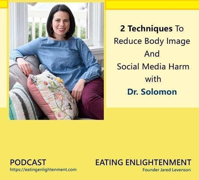 body image and social media pinterest image with doctor solomon from galia collective