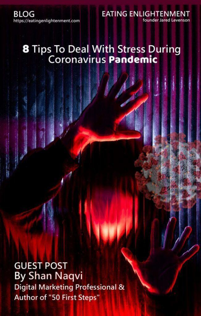 8 tips to deal with stress during coronavirus pandemic by shan naqvi