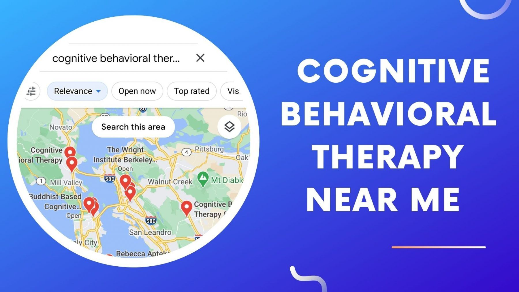 cognitive behavioral therapy near me