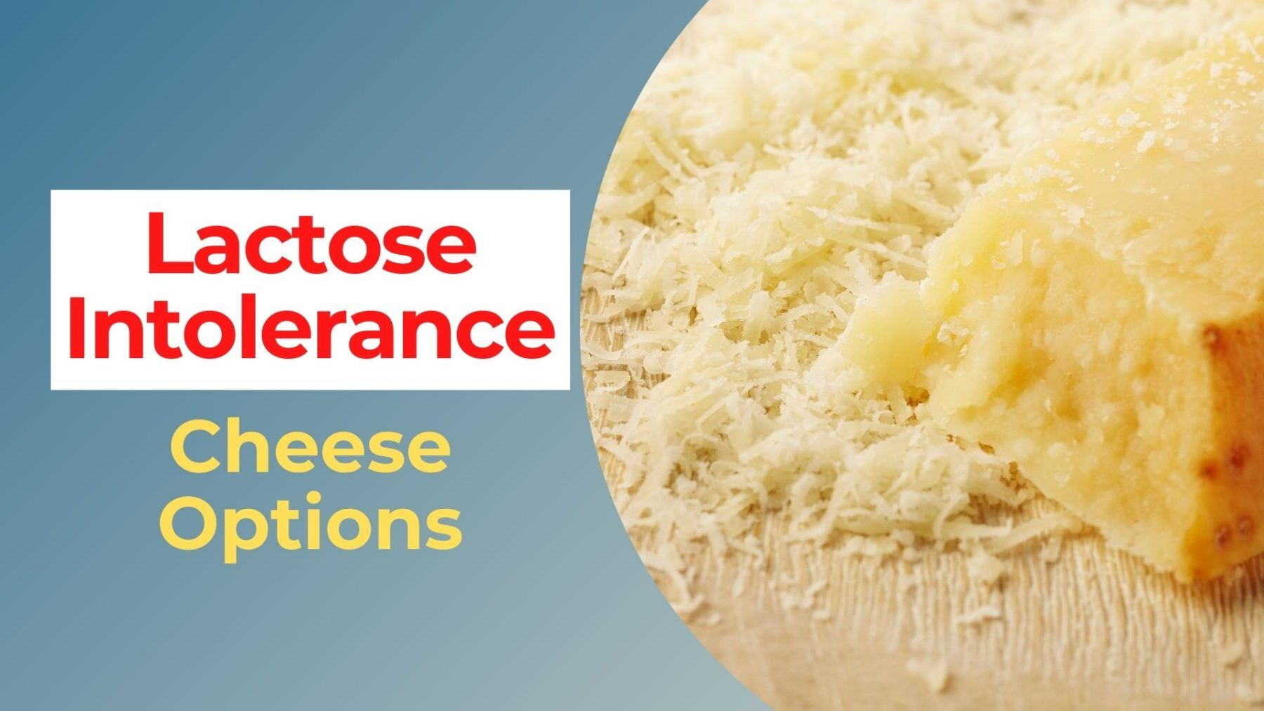 lactose intolerant cheese